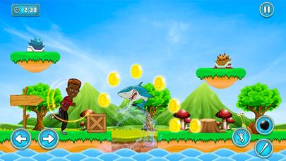 Super Hero Cat Adventure Game screenshot 1