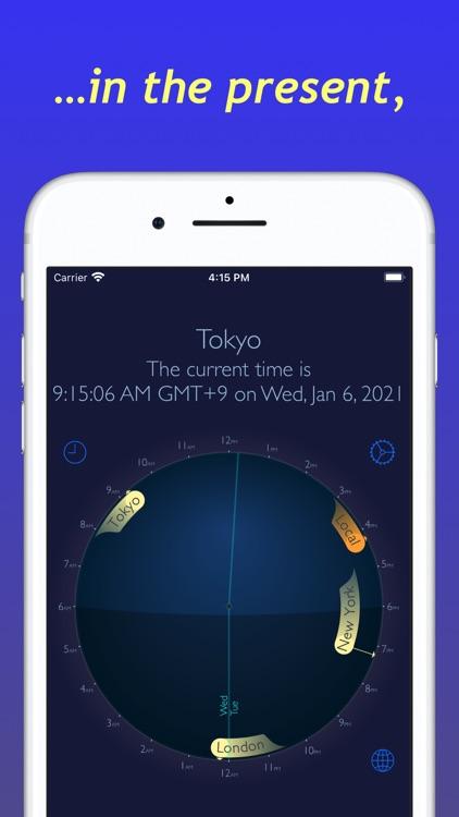 World Time Travel Clock