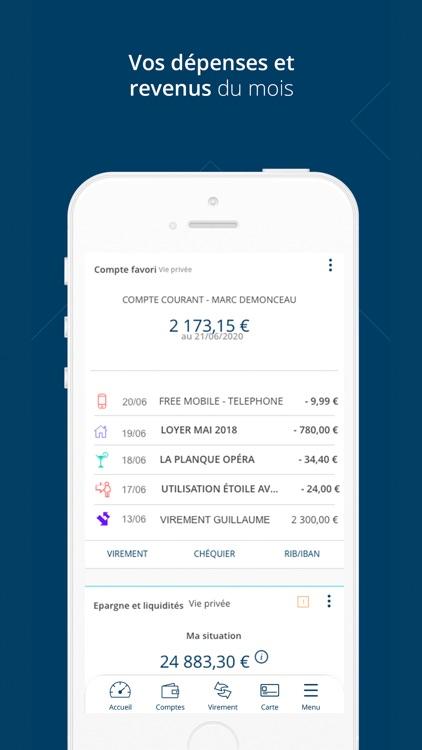 Banque Laydernier pour iPhone screenshot-3