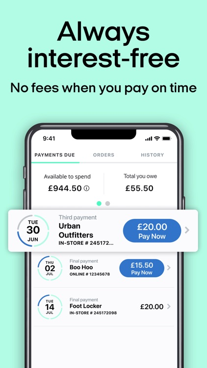 Clearpay - Buy now. Pay later. screenshot-3