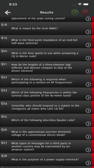 HAM Test Prep General Q&A screenshot 7