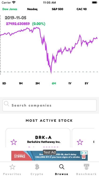 Ticker: Stocks & Crypto screenshot-3