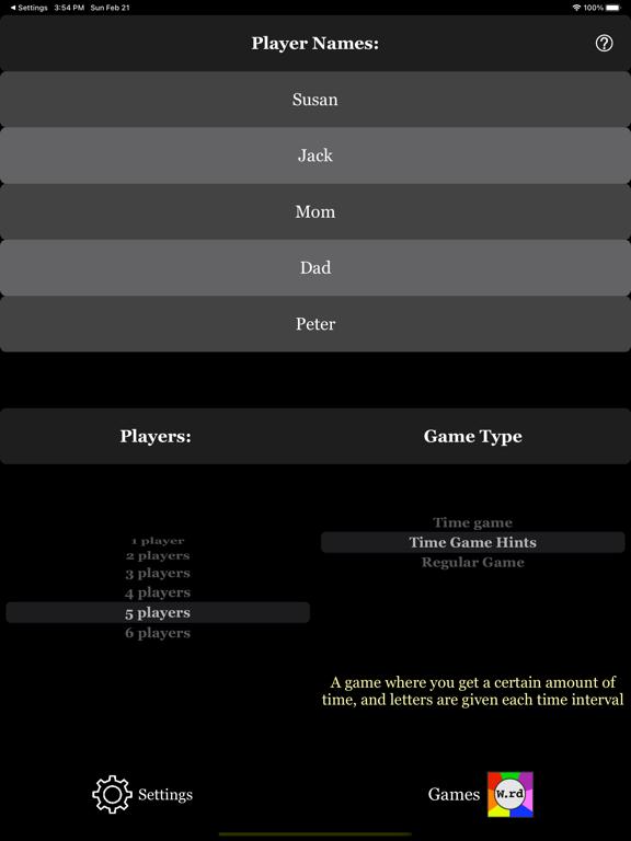 My trivia a personal word game screenshot 6