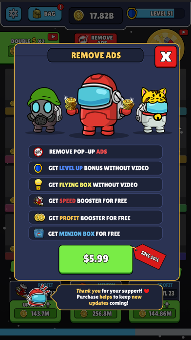Impostor Academy Match & Merge screenshot 3