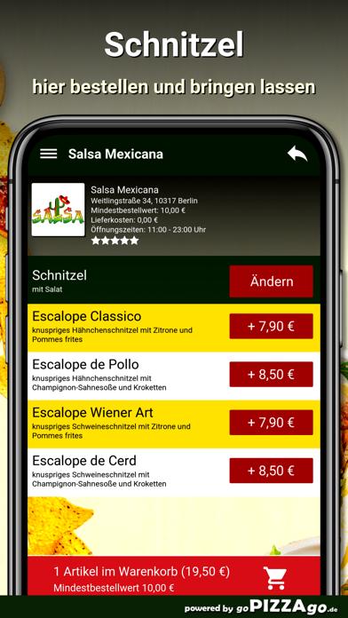 Salsa Mexicana Berlin screenshot 6