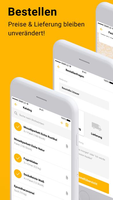 Simplo - Die Handwerker AppScreenshot von 5