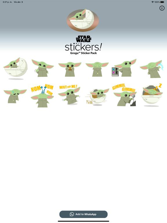 Grogu™ Sticker Pack screenshot 4