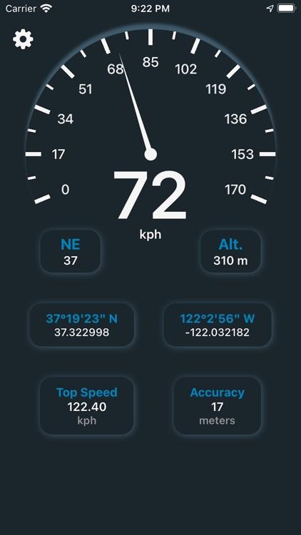 Speedometer - Real Time screenshot-3