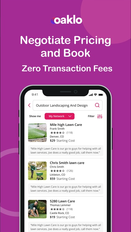 Oaklo: Share Recommendations screenshot-3