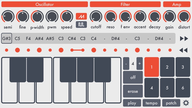 SquareAcid - Acid Synthesizer screenshot-0