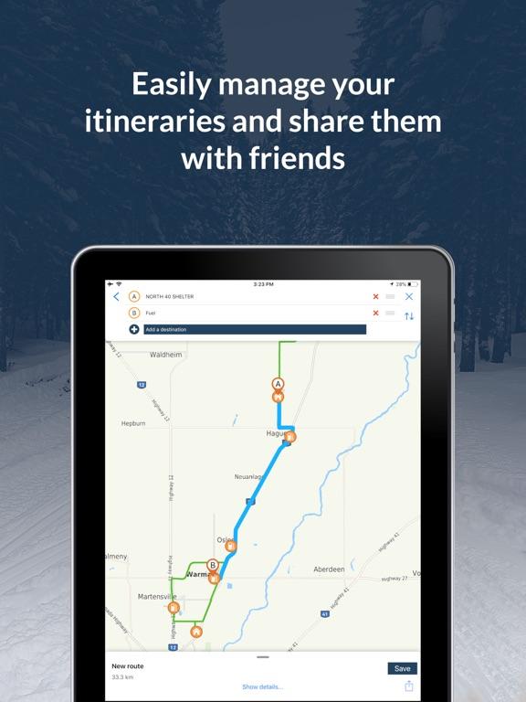 Sask Snowmobile Trails screenshot 9
