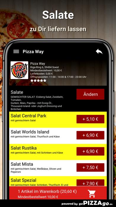 Pizza Way Soest screenshot 5
