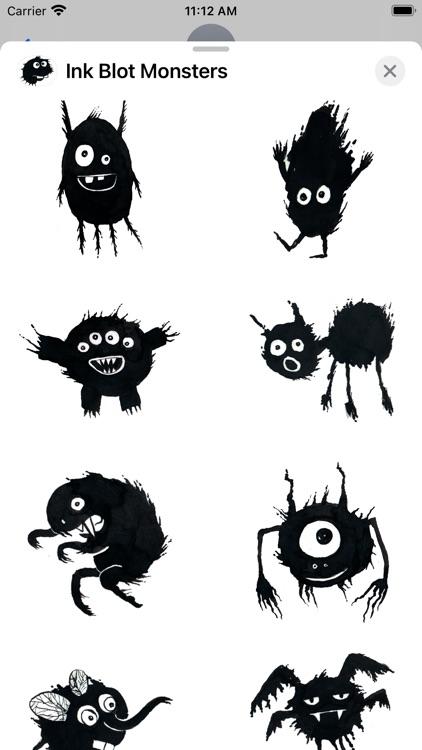 Ink Blot Monsters screenshot-3