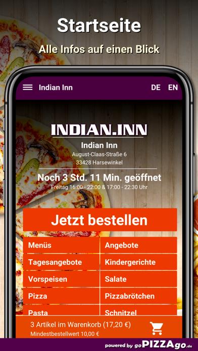 Indian Inn Harsewinkel screenshot 2