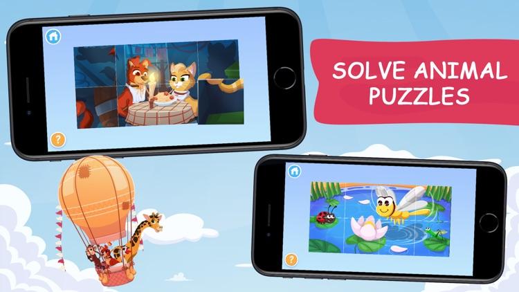 Keiki: Kids Jigsaw Puzzle Game screenshot-0