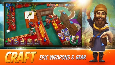 Shop Titans: Craft & Build free Gems hack