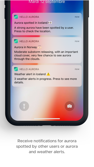 hello aurora: forecast appのおすすめ画像6