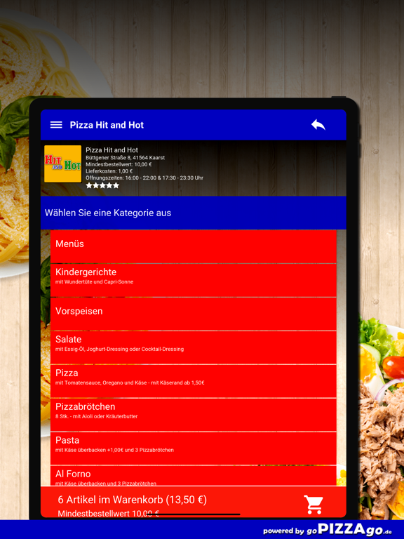 Pizza Hit and Hot Kaarst screenshot 8