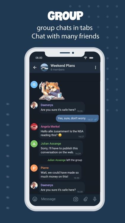 Tele Messenger Chat Secure