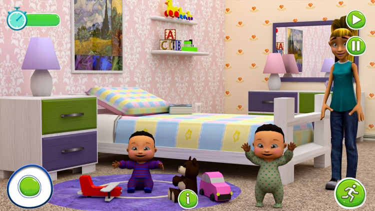 Twins Babysitter Daycare Game