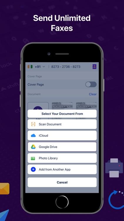 Fax from Phone : Send Fax screenshot-4