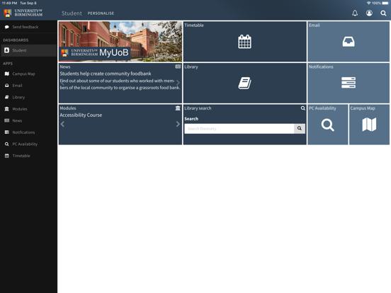 MyUoB screenshot 5