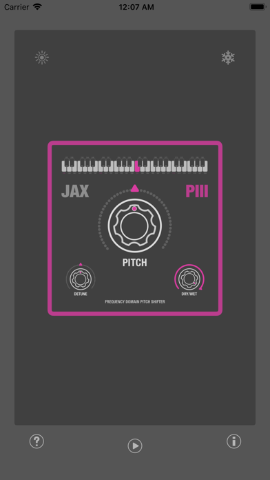JAX P3 - Pitch Shifter III screenshot 4
