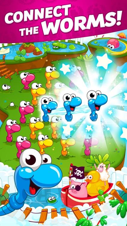 Sugar Worms: Match & Blast!