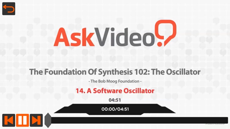 The Oscillator Course by A.V.