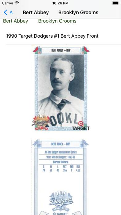 Baseball trading cards PRO screenshot 2