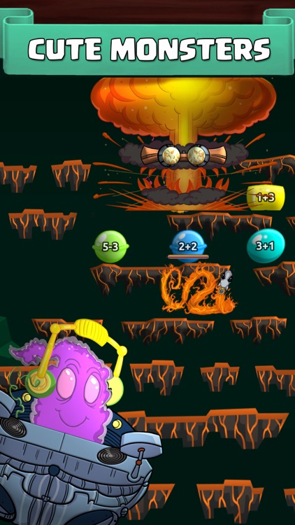 Monster Math 2: Games For Kids screenshot-0