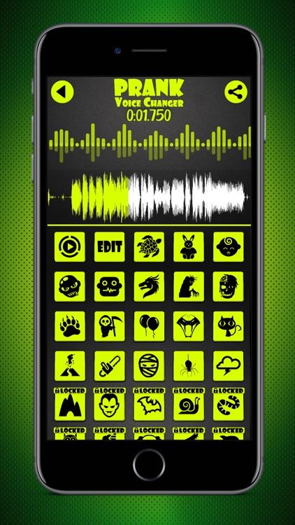 Prank Voice Changer & Recorder screenshot-3