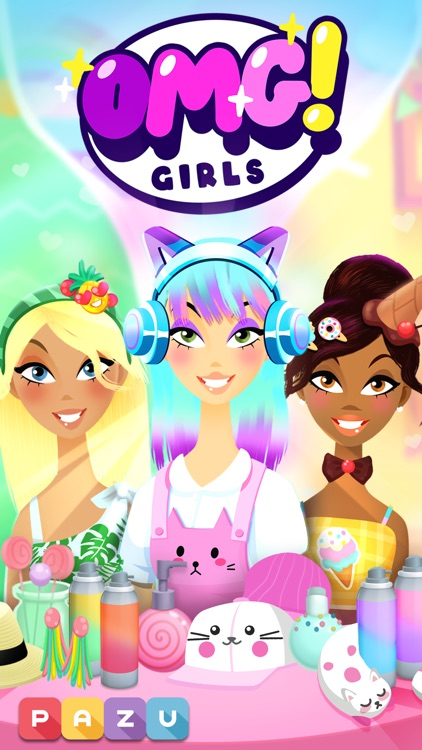 OMG! Girls - Hair Salon Games screenshot-0