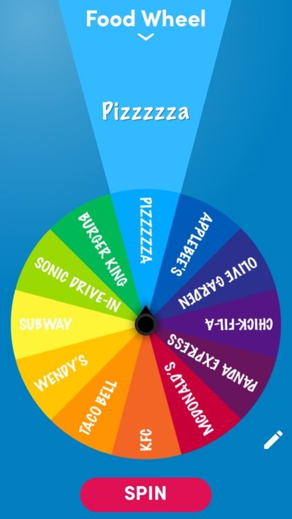 Daily Decision Wheel