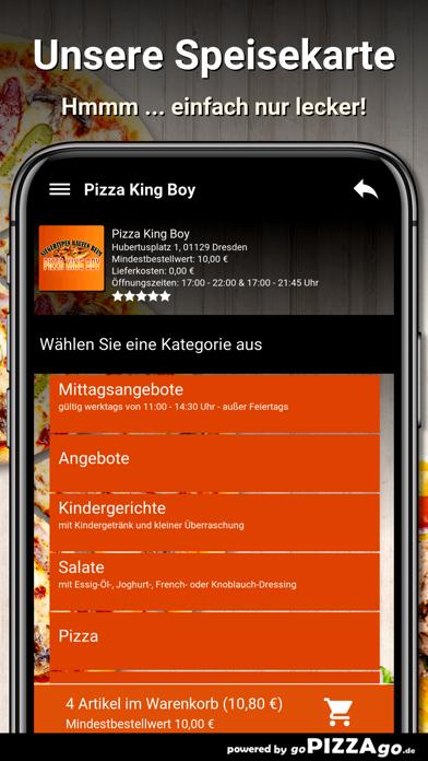 Pizza King Boy Dresden screenshot 4