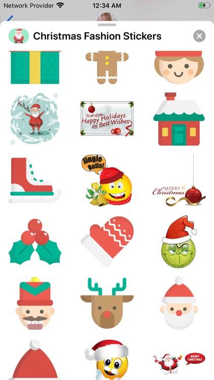 Christmas Fashion Stickers