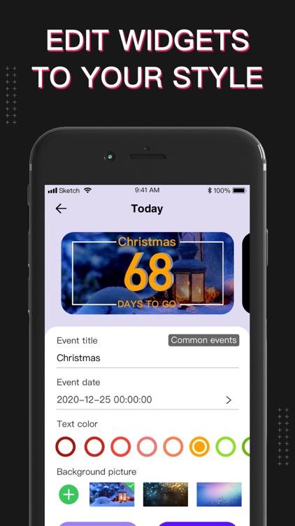 Widgets X - Color Home Screen screenshot-3