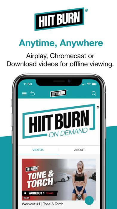 HIIT BURN Burn Fat. Not Time.のおすすめ画像5