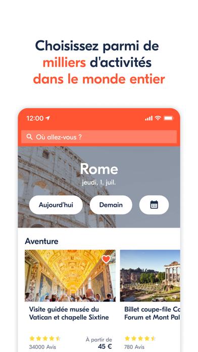 Screenshot #1 pour GetYourGuide : tours & billets