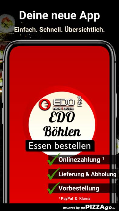 Edo Wok & Sushi Böhlen screenshot 1