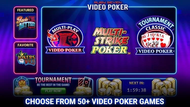 Video Poker by Ruby Seven screenshot-0