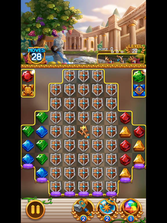 Jewel Athena: Match3 Puzzleのおすすめ画像3