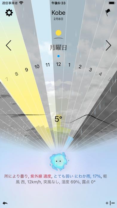 今日の天気、神様が教えます - Weather Godsのおすすめ画像2