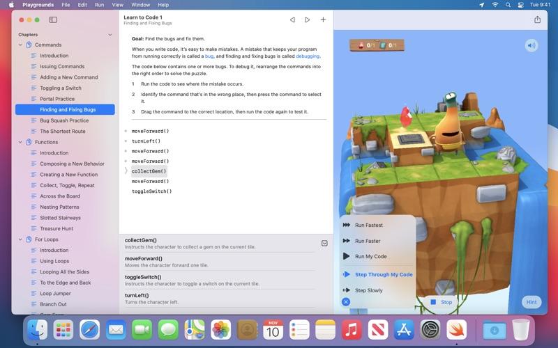 Swift Playgrounds скриншот программы 5