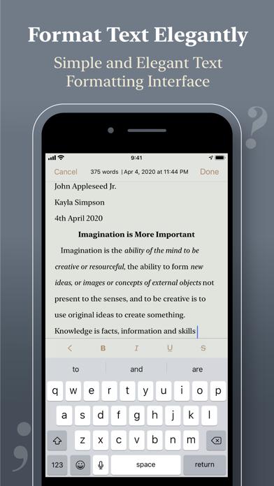 Notewrap - Book & Blog Writer屏幕截图4