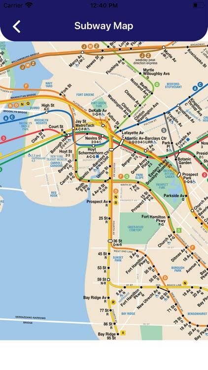 MTA NYC Subway Map Pro screenshot-5