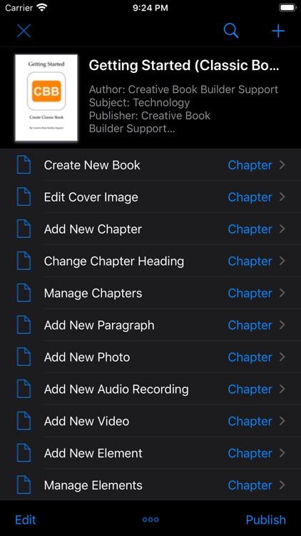 Creative Book Builder screenshot-9