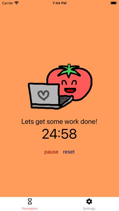 Productive Pomodoroلقطة شاشة2