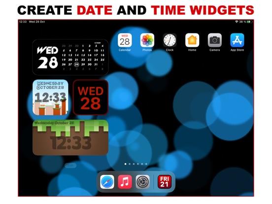 Widget D : Date Time Widgets screenshot 4