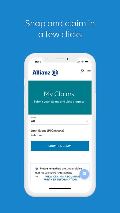 Allianz MyHealthScreenshot of 4